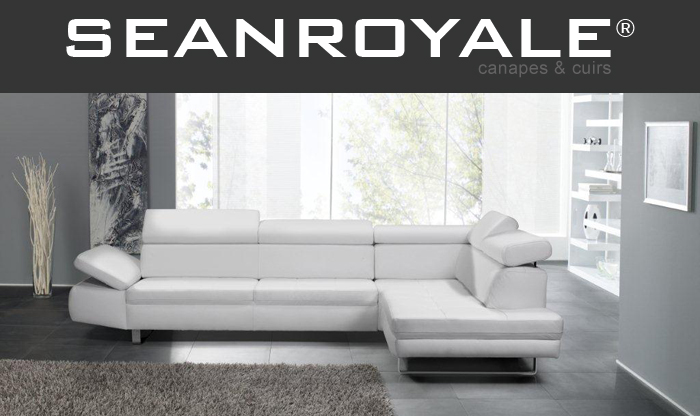 canape cuir blanc design seanroyale bandibandi blog de. Black Bedroom Furniture Sets. Home Design Ideas