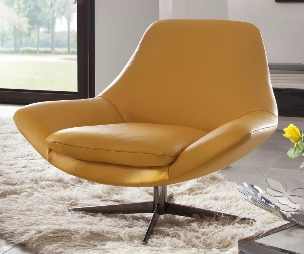 Nouveau fauteuil design cuir pied pivotant allen allan blog de seanroyale - Fauteuils salon design ...