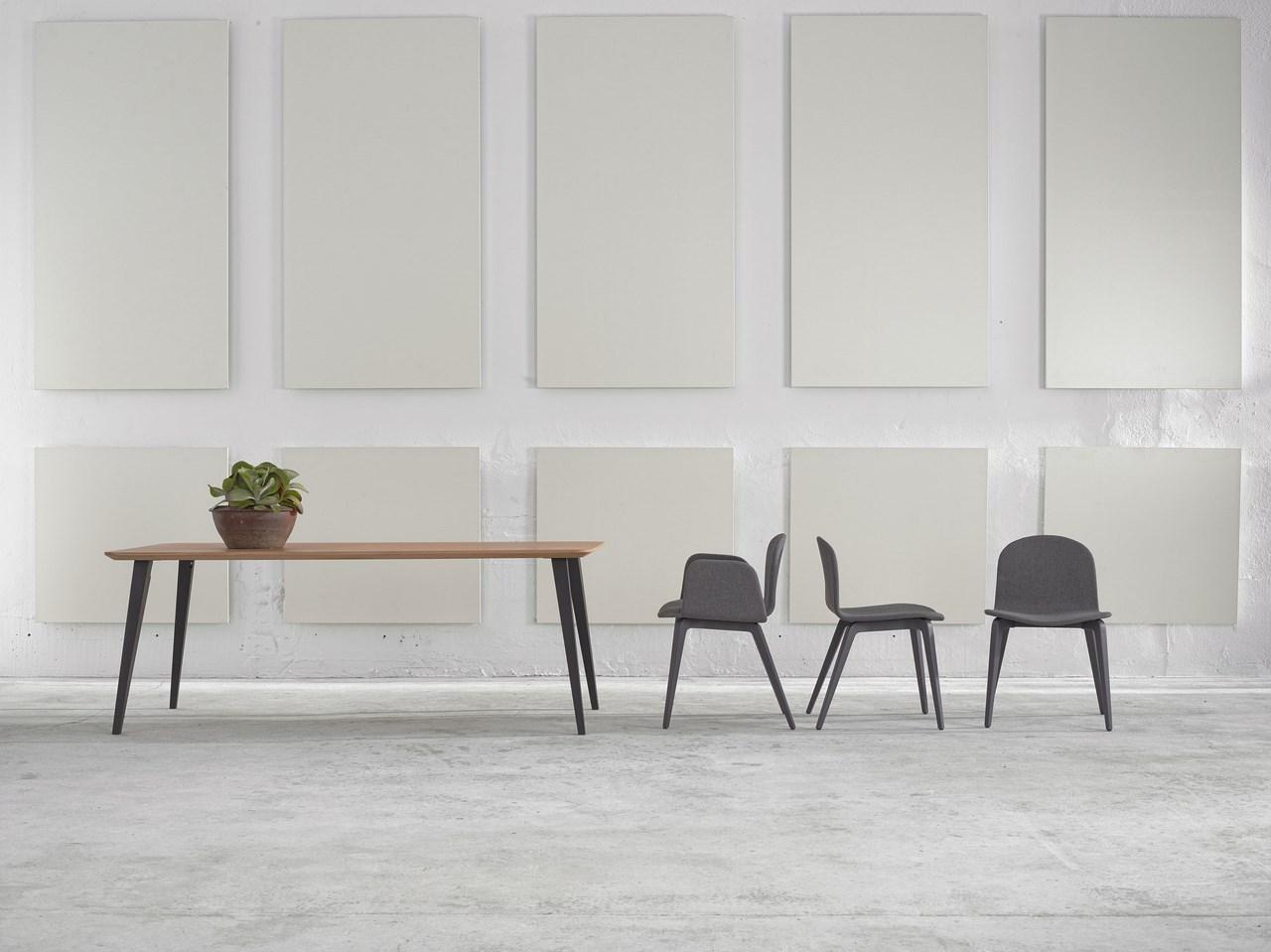 nouveau chaise et fauteuil design scandinave en tissu pieds bois bliss blaine r blog de. Black Bedroom Furniture Sets. Home Design Ideas
