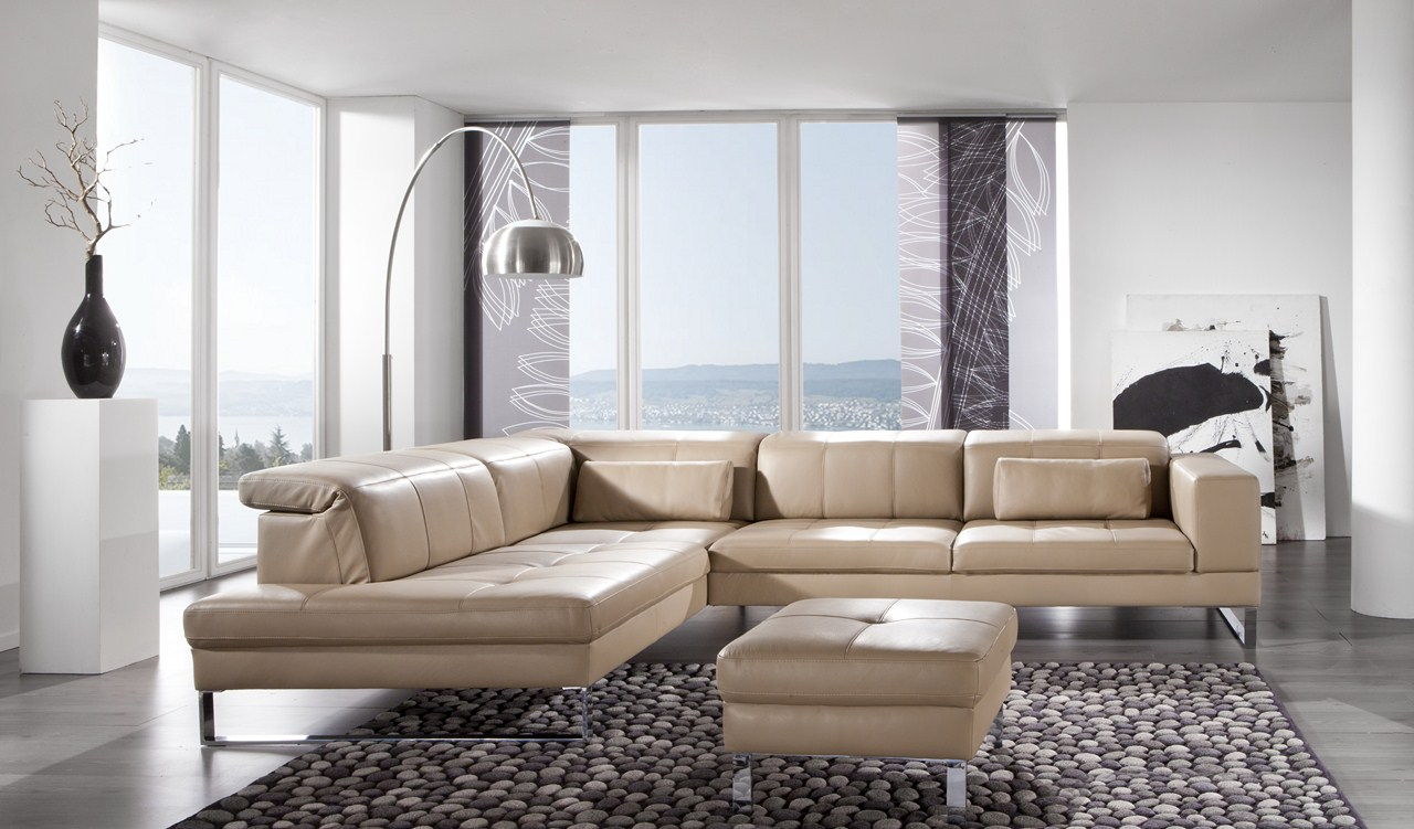 Quelle decoration choisir avec un canape beige en cuir for Couch quelle