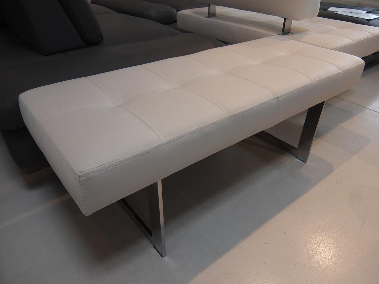 banc 120 cm poolside cuir nubia neige blog de seanroyale. Black Bedroom Furniture Sets. Home Design Ideas