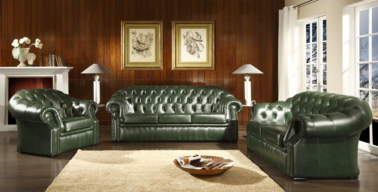 Le canape en cuir est il reserve aux interieurs traditionnels ...