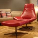 ensemble-fauteuil-pouf-allan-rouge-cerise
