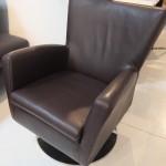 fauteuil-design-alpha-cuir-nature-chocolat-noir