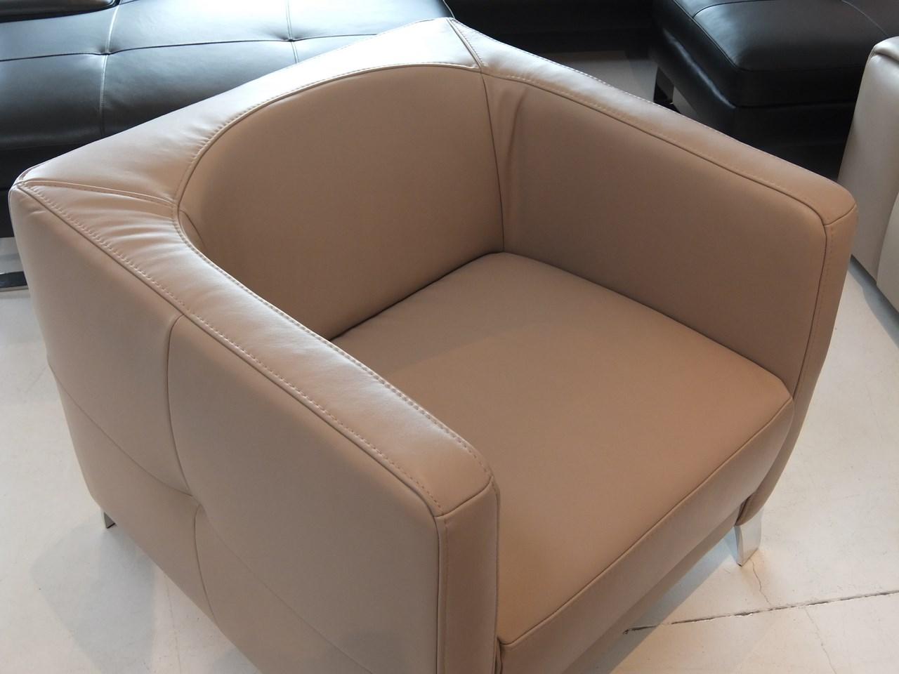 Fauteuil design am sugar cuir victory taupe blog de - Soldes fauteuil design ...
