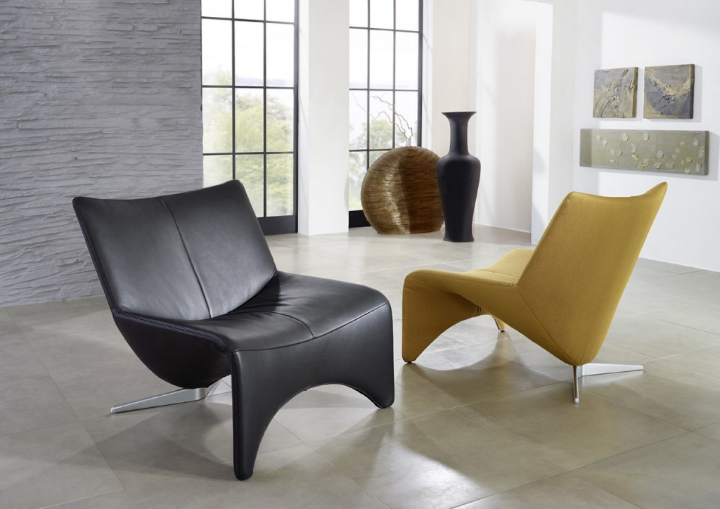 le fauteuil en cuir la tendance de cet automne blog de seanroyale. Black Bedroom Furniture Sets. Home Design Ideas