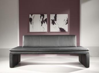 Banquette design LoftSide 220 cm, cuir ou tissu