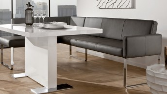 banquette cuir design 220 x 249 cm PUREdining