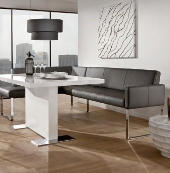 Banquette d'angle design PUREdining 160 x 209 cm