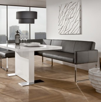 Banquette d'angle PUREdining design 140 x 169 cm