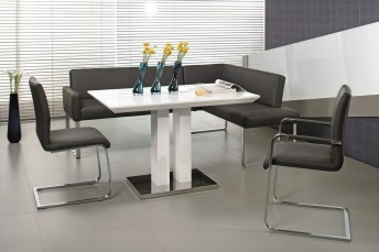 PUREdining, banquette d'angle coin repas 120 x 269 cm