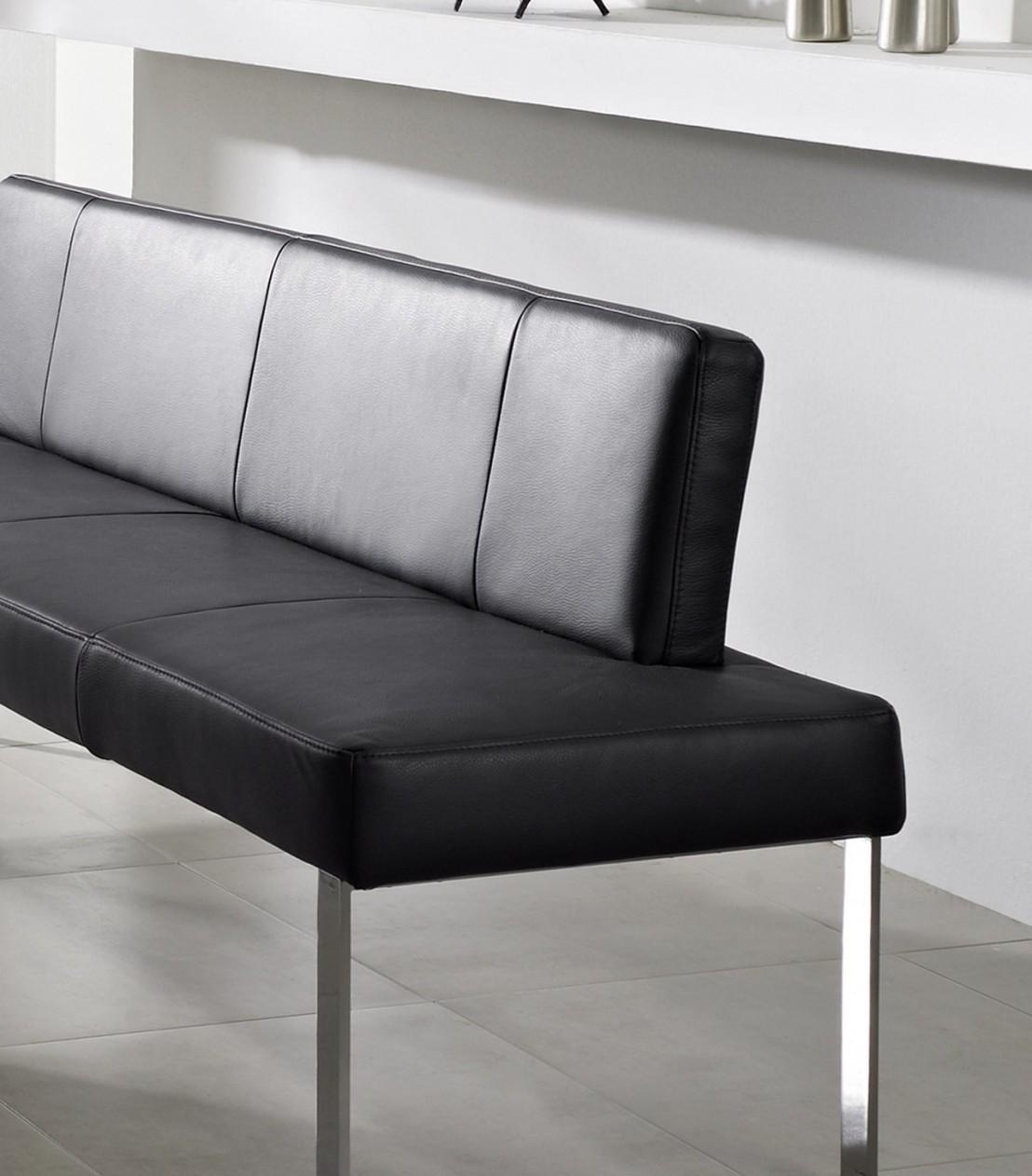puredining banquette 130 cm cuir ou tissu. Black Bedroom Furniture Sets. Home Design Ideas