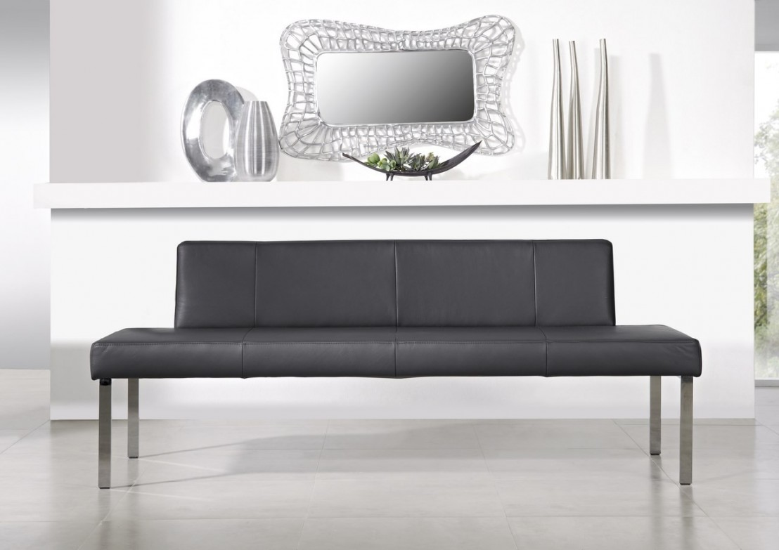 puredining banquette 120 cm en cuir ou tissu. Black Bedroom Furniture Sets. Home Design Ideas