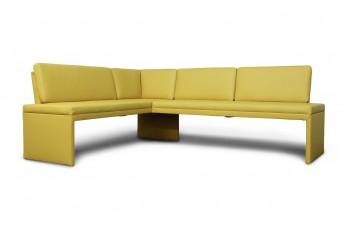 DEXTER, banquette d'angle 147 x 266 cm, design moderne