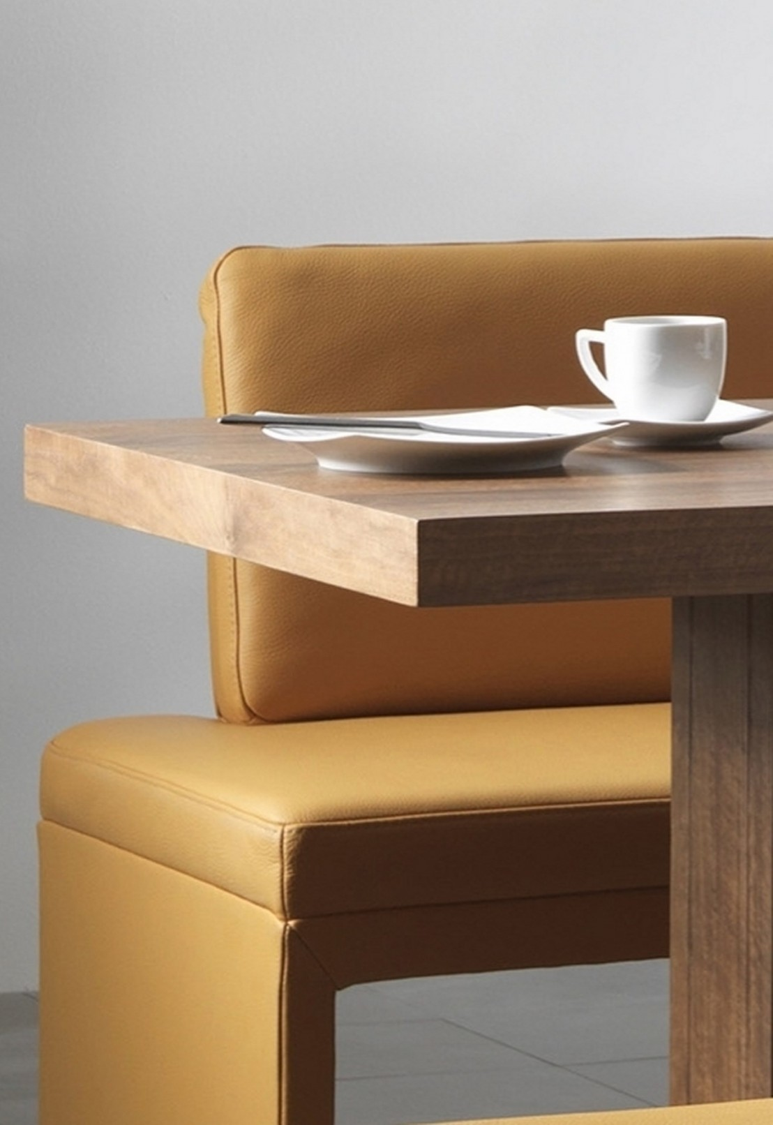 banquette d 39 angle design minimaliste dexter 227 x 266 cm. Black Bedroom Furniture Sets. Home Design Ideas