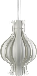 Lampe suspension Onion Verpan grande blanche