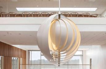 Lampe design Moon XXXL Verpan blanche