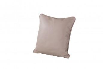 Très petit coussin carré cuir ou tissu 38 x 38 cm