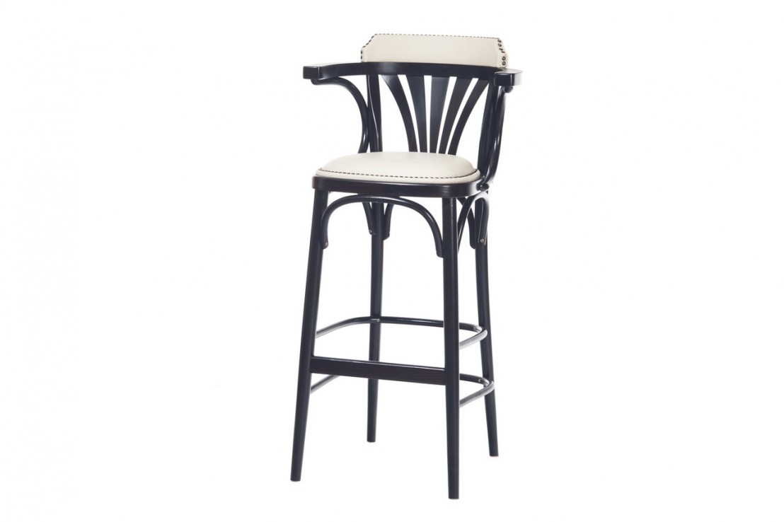 tabouret bar ton 135 par 2 tabourets assise en tissu clous. Black Bedroom Furniture Sets. Home Design Ideas
