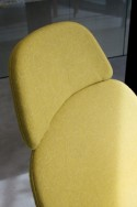 Fauteuil & repose-pied LLOUNGE LUXY cuir ou tissu