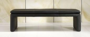 LoftSide banc en cuir ou tissu 120 cm