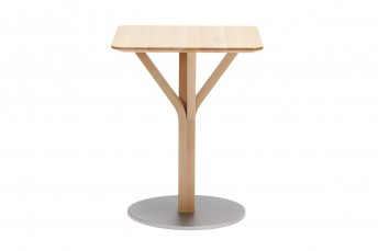 Petite table en chêne carrée BLOOM central 274, 60 X 60 cm