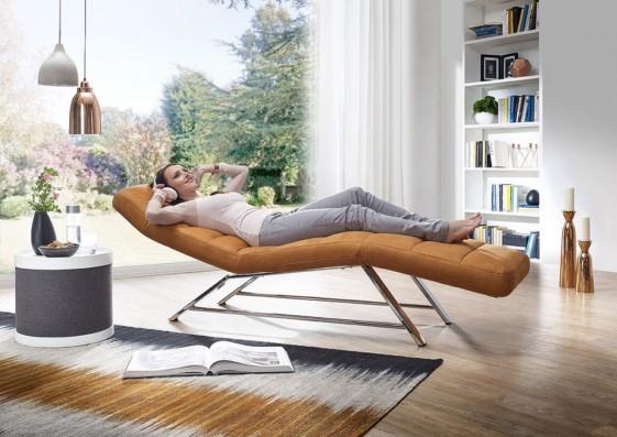 Chaise longue cuir électrique relax CONTROLBODY