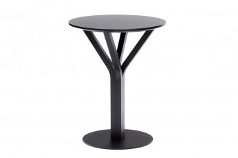 Table ronde BLOOM Central 273, diamètre 60 cm en hêtre