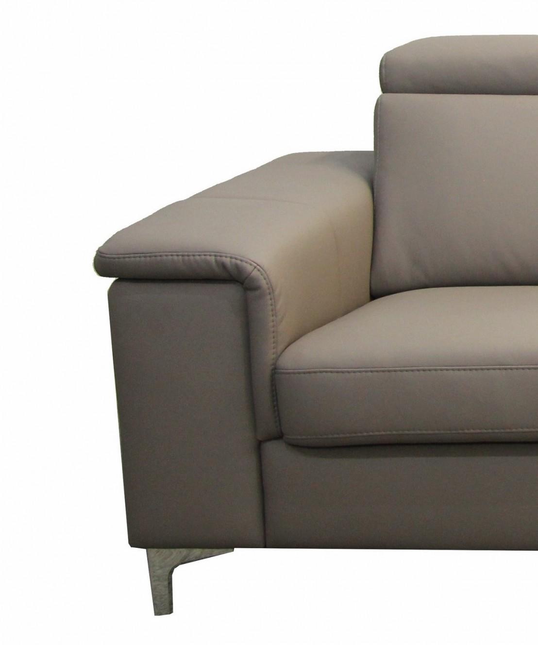 petit canap d 39 angle 5 places cuir ou tissu kayle livraison gratuite. Black Bedroom Furniture Sets. Home Design Ideas