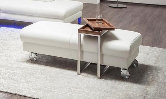 petit pouf cuir dreamline. Black Bedroom Furniture Sets. Home Design Ideas