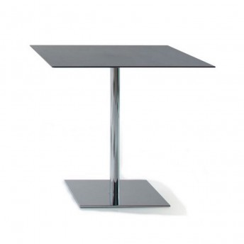 Table carré INCOLLECTION finition INQUADRO en HPL