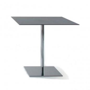 Table carrée INCOLLECTION finition INQUADRO plateau HPL