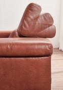 Canapé contemporain 2,5 places DREAMLINE en cuir ou tissu