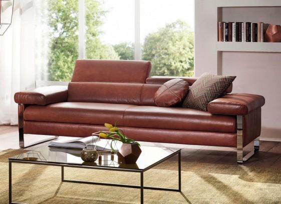 Grand canapé DREAMLINE 3 places cuir ou tissu
