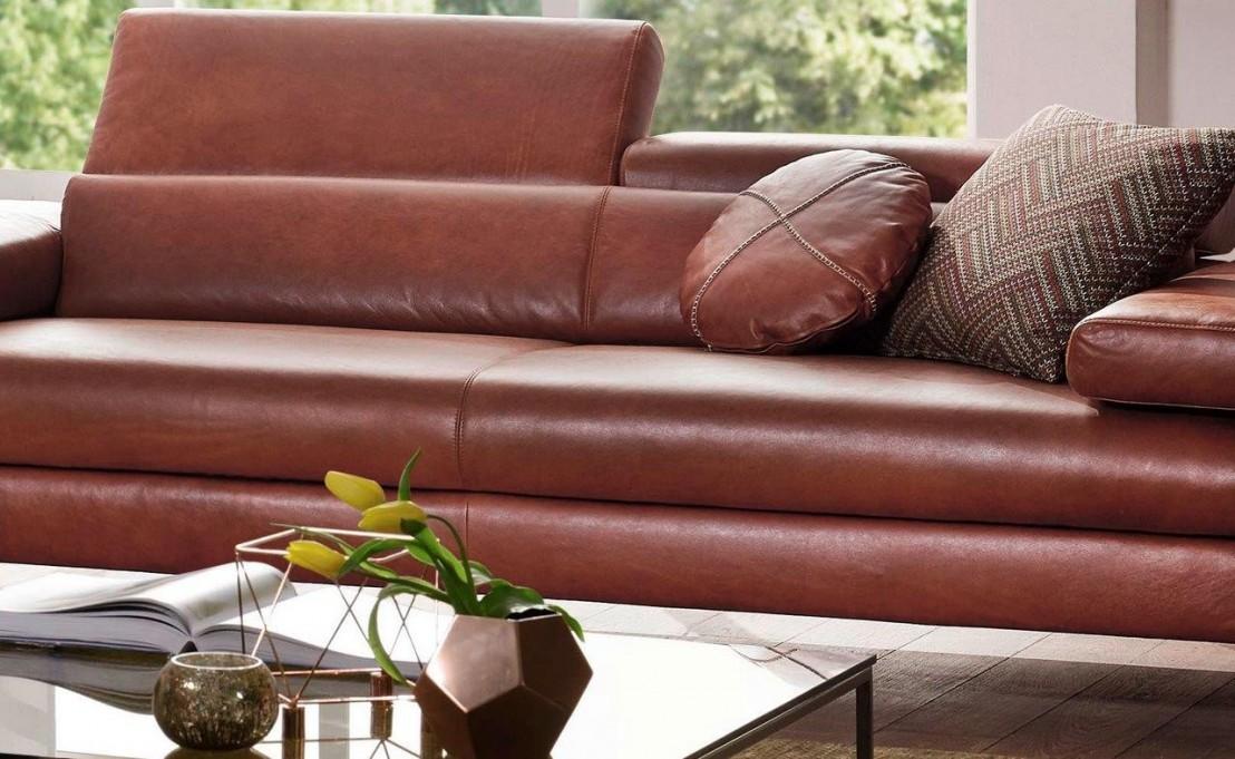 grand canap dreamline 3 places en cuir ou tissu design minimaliste. Black Bedroom Furniture Sets. Home Design Ideas