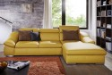 Canapé d'angle 3,5 places ALOW.B avec chaise longue