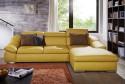 Canapé d'angle convertible 3 places ALOW.B chaise longue & coffre de rangement