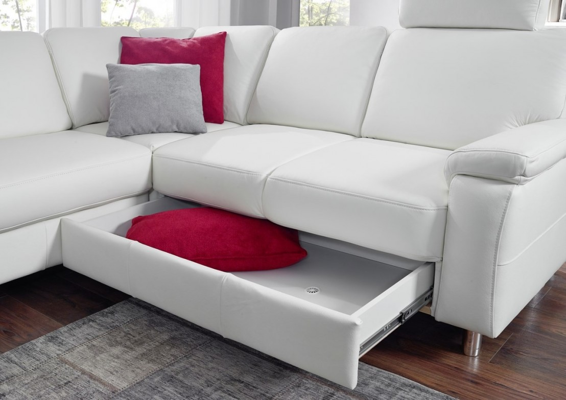 grand canap d angle marwin c 6 places en u cuir ou tissu au choix. Black Bedroom Furniture Sets. Home Design Ideas