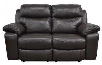 KLASSIKRELAX canapé 2 places manuel dossiers hauts, cuir ou tissu