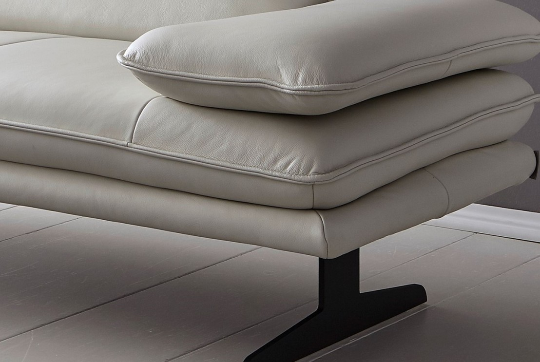 canap banc dossiers r glable design cuir ou tissu alwin c. Black Bedroom Furniture Sets. Home Design Ideas