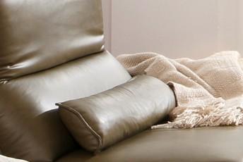 Coussin cale-rein cuir ou tissu ALWIN.C
