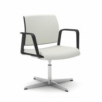 OFFICE 805 chaise de bureau avec accoudoirs pivotante réglable en hauteur