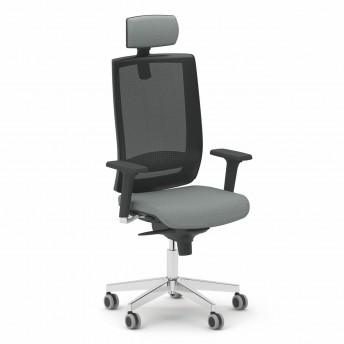 Fauteuil OFFICE 385 de bureau avec appuie-tête