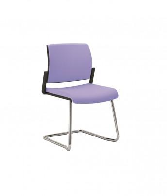 OFFICE 600 chaise de bureau ou réunion pied luge