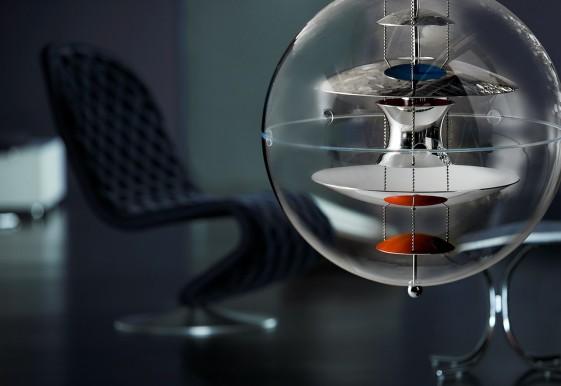 Suspension Sphère Verpan VP GLOBE diam. 50 cm