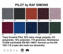 Chaise System 1-2-3 Verner PANTON en velours Kvadrat Pilot by Raf SIMONS