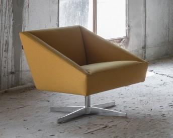AMARCORD fauteuil cuir design de LUXY