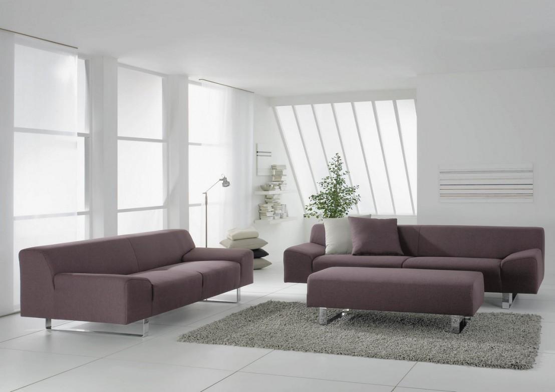 grand canap design en tissu ou cuir 4 places m madonna. Black Bedroom Furniture Sets. Home Design Ideas