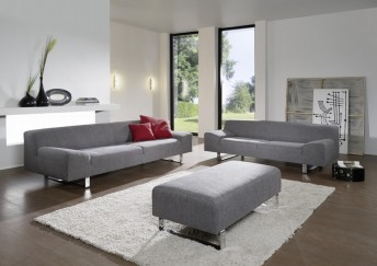 Grand canapé design en cuir 4 places M.Madonna