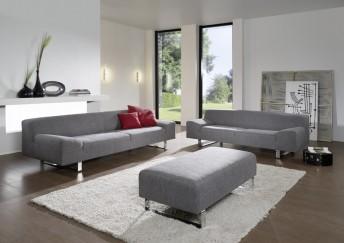 Grand canapé design en tissu ou cuir 4 places M.Madonna